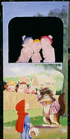 childrens Party Puppet Show